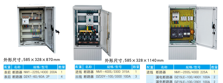 电缆分线箱方案典例